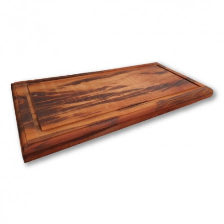 Tábua de carne para churrasco - clássica - 60x30cm